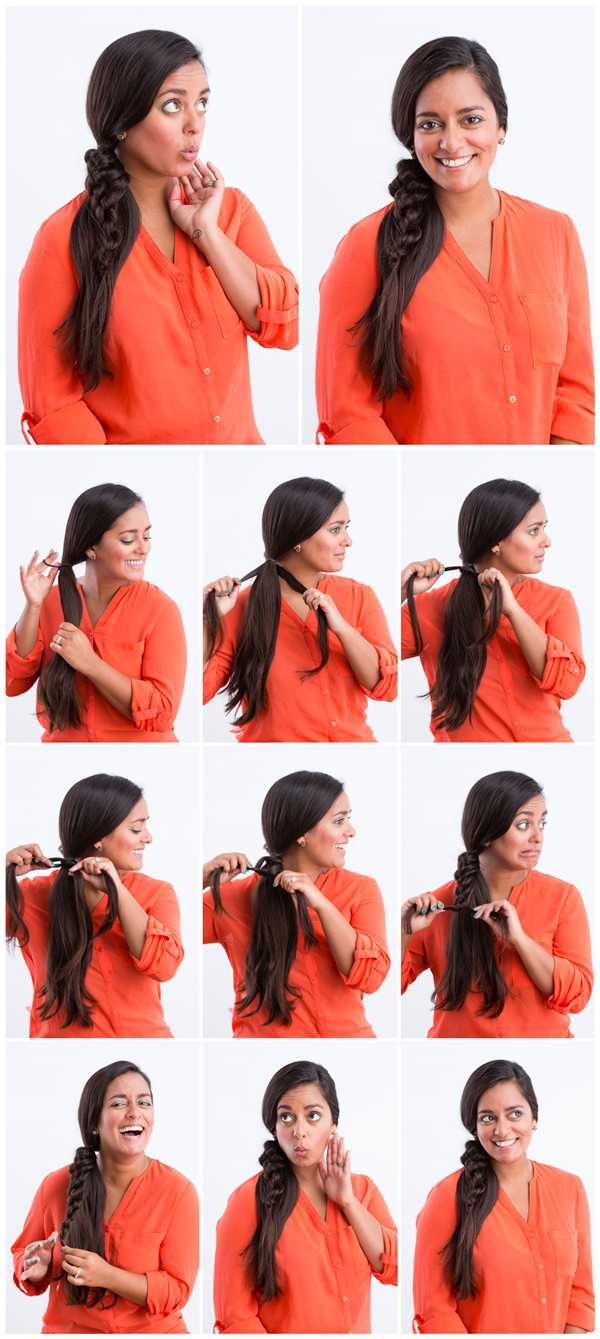 Knotty Ponytail Tutorial