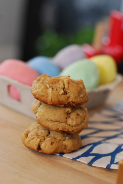 Peanut Butter Coconut Cookies Recipe