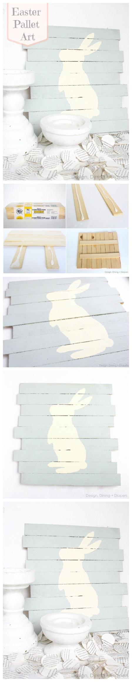 DIY Easter Pallet Art Tutorials