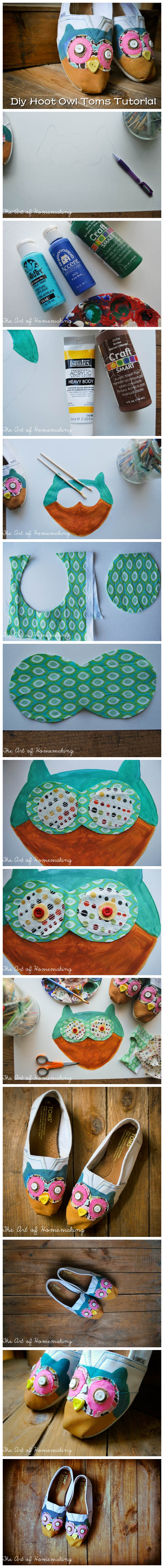 Diy Hoot Owl Toms Tutorial