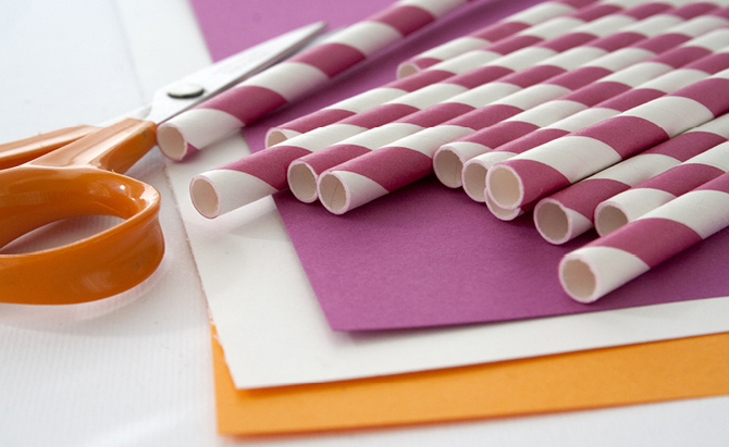 Making A Table Drinking Straws Tutorial