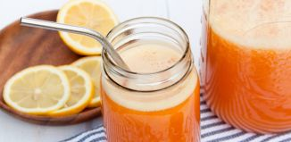 Ginger Peach Lemonade Recipe