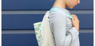 How To Diy Drawstring Backpack Tutorial