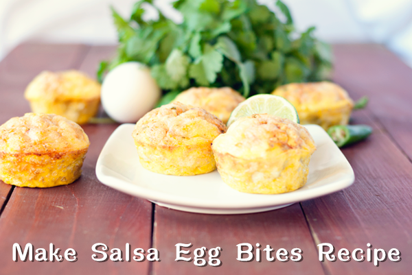 Make Salsa Egg Bites Recipe