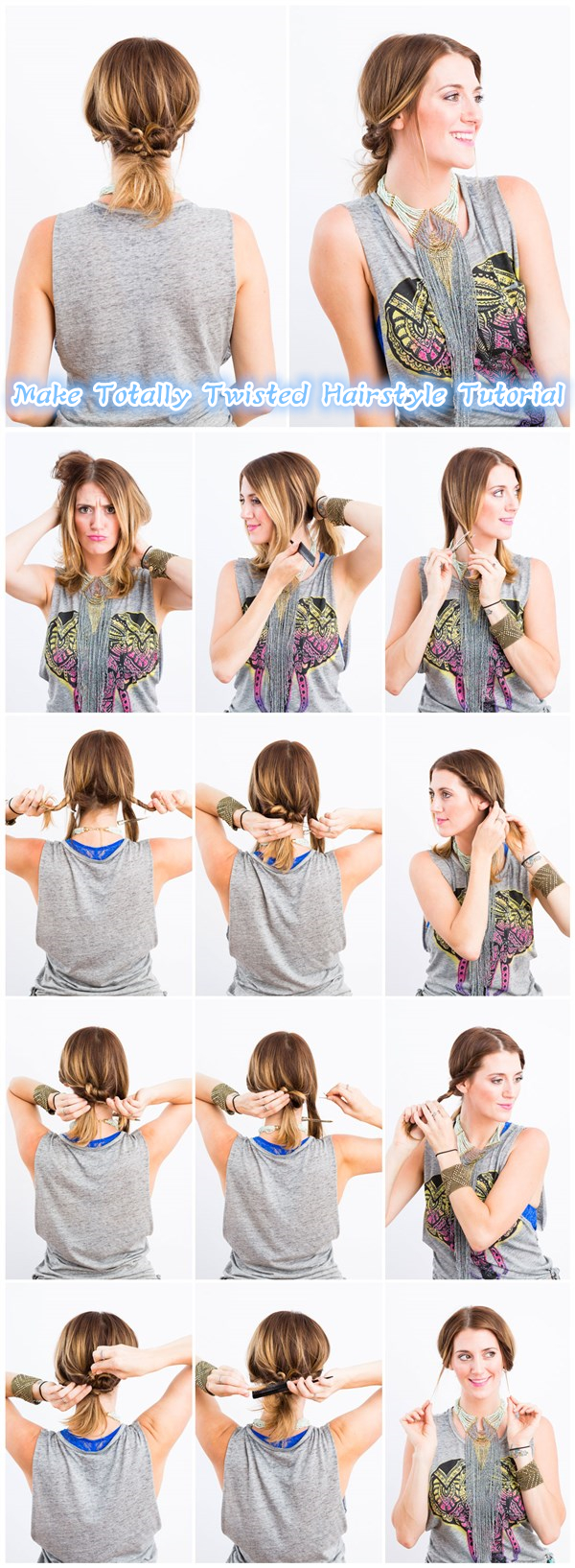 Make Totally Twisted Hairstyle Tutorial