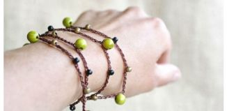 Nail Polish Wooden Beads Necklace Tutorial