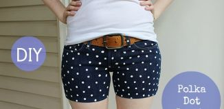 Diy Polka Dot Shorts Tutorial