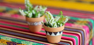 DIY Tiny Peruvian Pots Tutorials