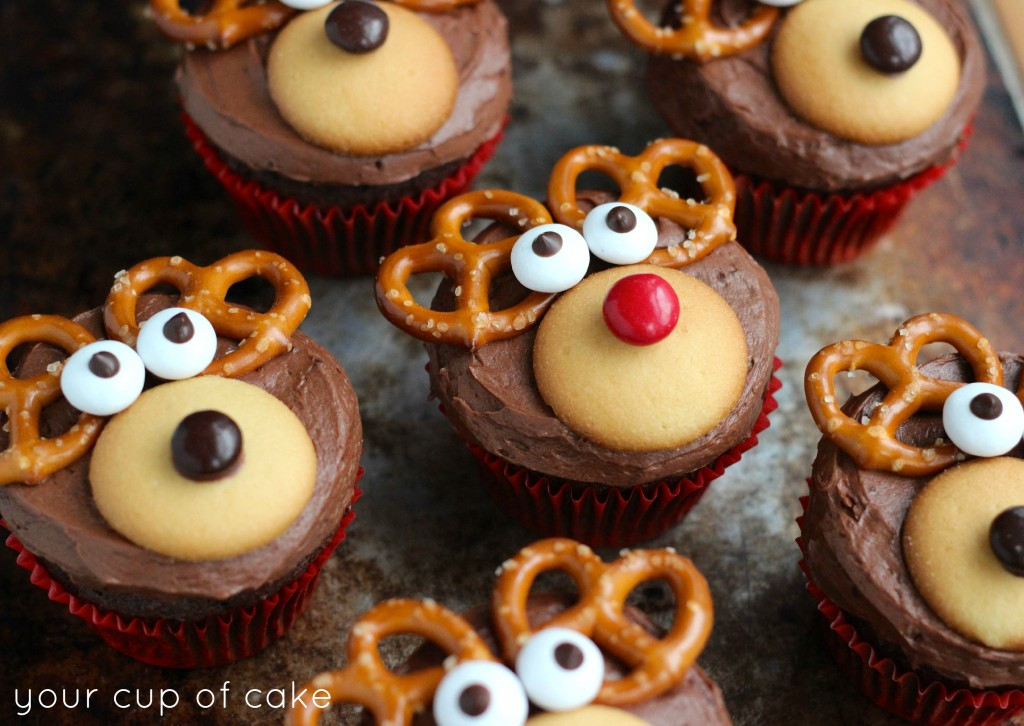 Reindeer Cupcakes Recipes