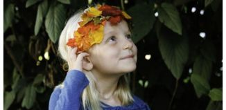 How To Diy Fall Leaf Crown Tutorial01