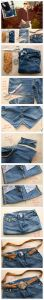 DIY Recycled Jeans Bag Tutorials