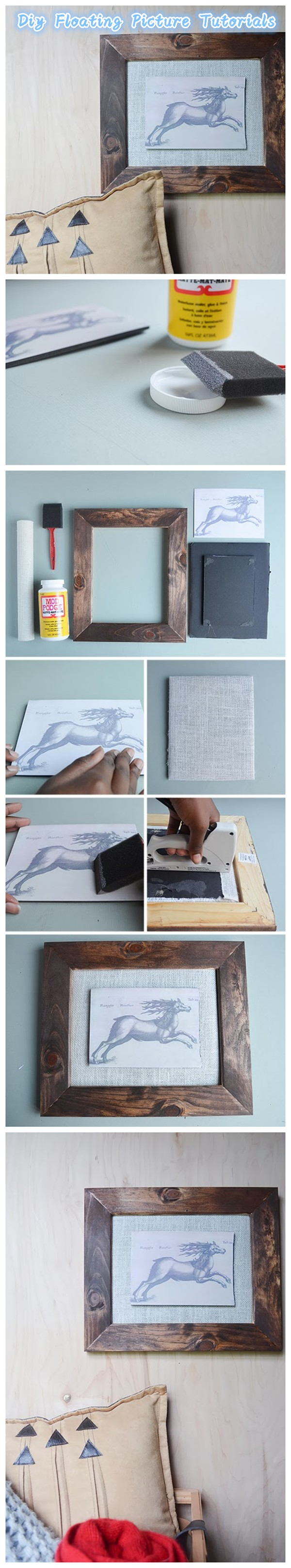 Diy Floating Picture Tutorials