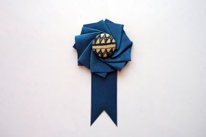 Diy Ribbon Boutonniere For The Groom