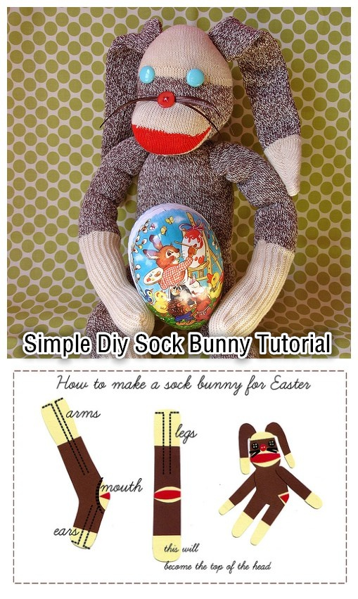 Simple Diy Sock Bunny Tutorial