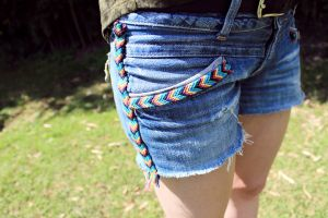 How To Diy Denim Shorts