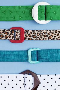 How To Make Fabric Belts Tutorial