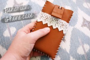 How To Diy Bohemian Style Iphone Case Tutorial