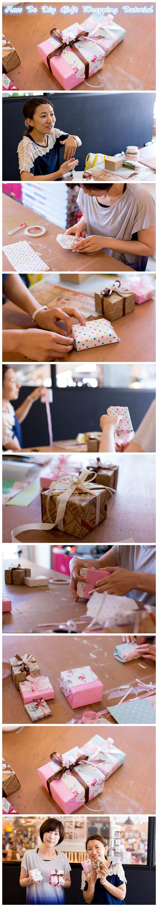 How To Diy Gift Wrapping Tutorial