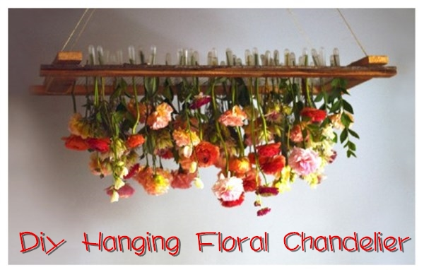 How to diy hanging floral chandelier tutorial hot diy tutorial aloadofball Image collections