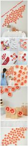 Make Favor Cup Paper Flowers