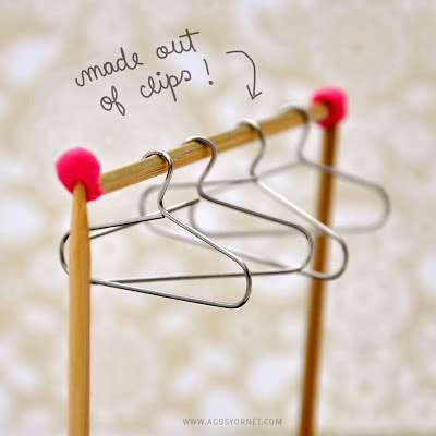 How To Diy From Paper Clips To Mini Hangers Hot Diy Tutorial