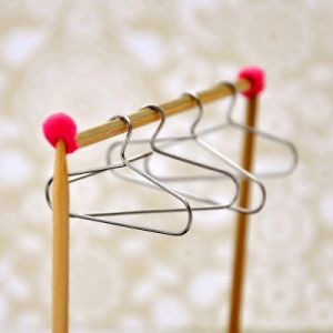 How To Diy From Paper Clips To Mini Hangers